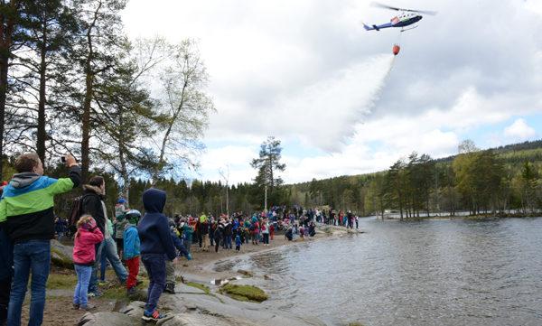 Fjorårets skogbranndag trakk mellom 6-8000 besøkende.