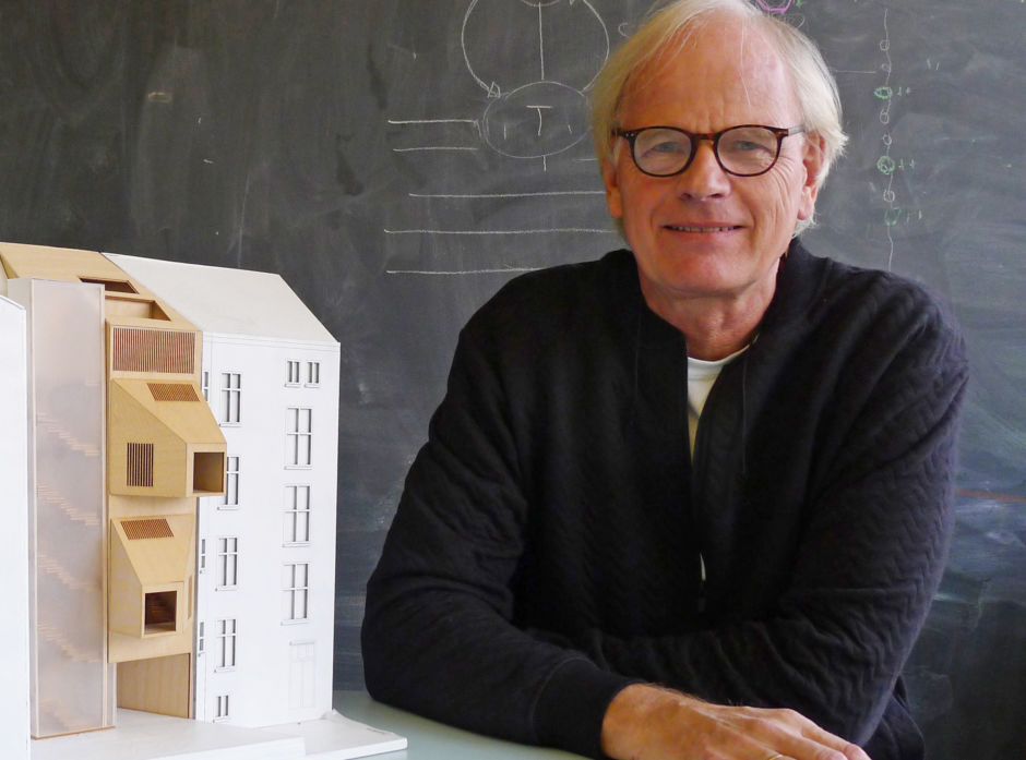 Professor Marius Nygaard ved Arkitekthøgskolen i Oslo.