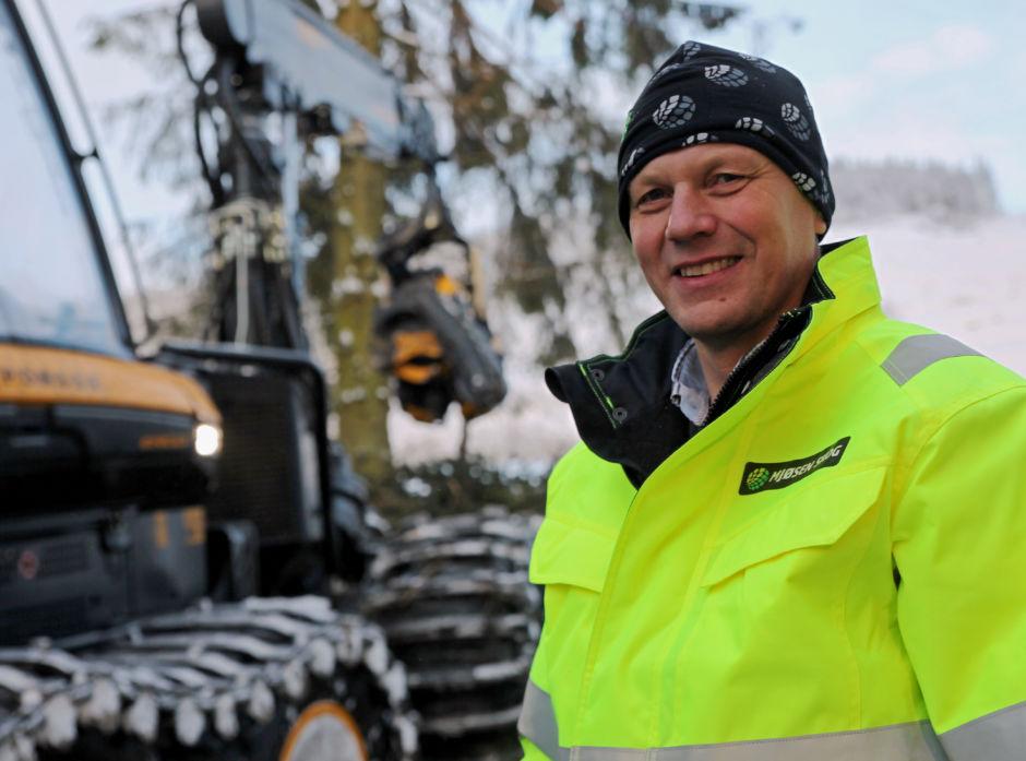 Administrerende direktør i Mjøsen Skog, Steffen Skolseg.
