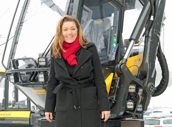 NHO-direktør Kristin Skogen Lund på Tømmer og Marked 2018.