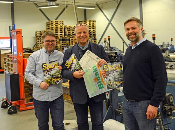 Bioska 501 er en mer miljøvennlig emballasje enn plast, og kan kastes med matavfallet eller i hjemmekomposten, eroppfordringen fra Åsmund Lang (undertegnede er redaktør i Skog), Tore Wold, Thomas Bratli.
