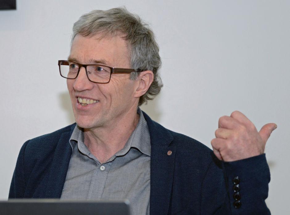 Styreleder Halvor Brosvik kunne peke tilbake på et historisk godt år i Vestskog både hva gjelder hogst og økonomi.