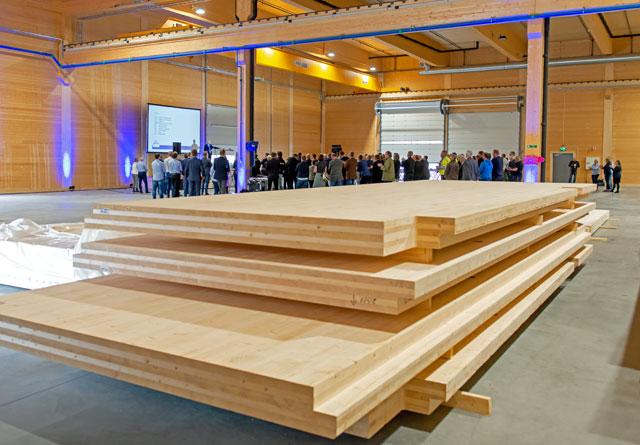 Splitkon er nominert til Landbrukets innovasjonspris. Her fra åpningen 30. april. Foto: Knut Werner Lindeberg Alsén.