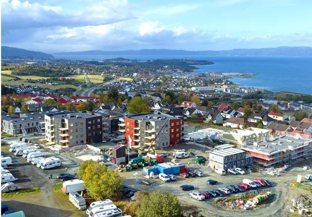 Bildet er fra maskinparken i Trondheim, der flere av bedriftene i Arena-nettverket holder til.