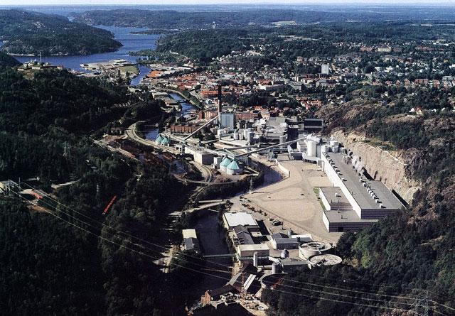 Norske Skog Saugbrugs i Halden.