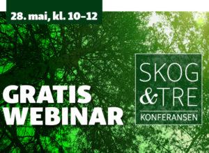 Programmet for Skog & Tre-webinaret er klart!