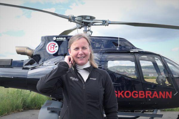 Elisabeth Sørbøe Aarsæther, direktør i DSB. Foto: Roar Ree Kirkevold.