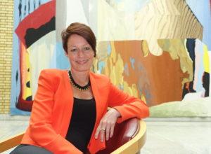 Line Henriette Holten, ny styreleder i Skogselskapet