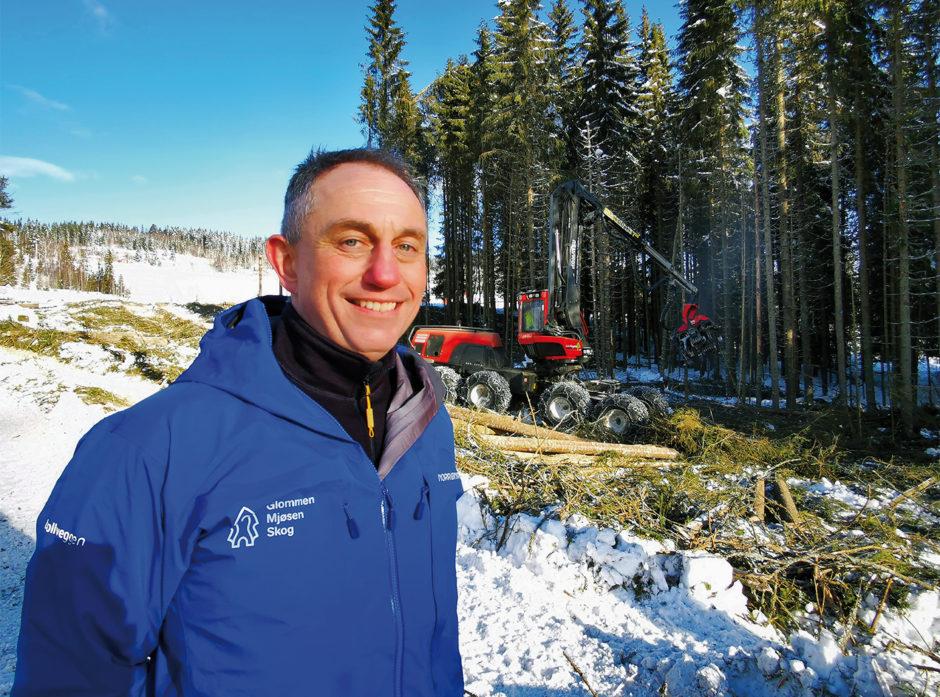 Gudmund Nordtun er administrerende direktør i Glommen Mjøsen Skog.